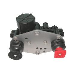 valve coup poing (bouton rouge et noir)