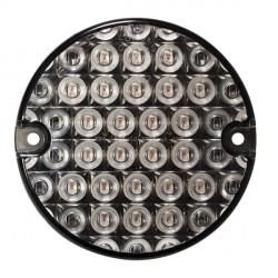 Feu arriére rond à LEDS 3 fonctions 6115