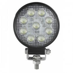 Feu de travail rond 9 LEDS 5949