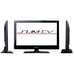 Téléviseur à LED extra fin SLIMTV19DVD