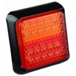 Feu arriére carré à LEDS 3 fonctions 7423