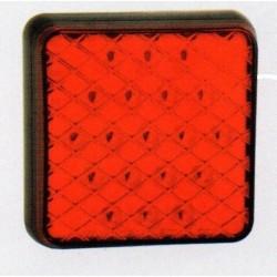 Feu arriére carré à LEDS antibrouillard 4920