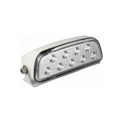 Feu de travail rectangle cristal 9 LEDS 7637