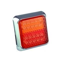 Feu arriére carré à LEDS 3 fonctions 7434