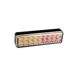 Feu arriére rectangulaire à LEDS 3 fonctions 7435