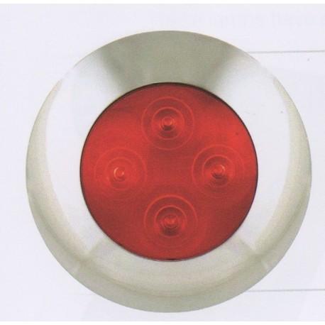 Eclairage d'ambiance rouge à LEDS 4168