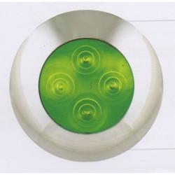 Eclairage d'ambiance vert à LEDS 4170
