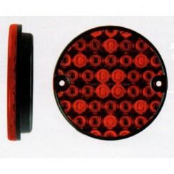Feu arriére rond à LEDS 2 fonctions 4915