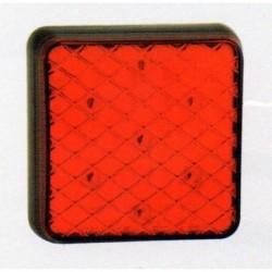 Feu arriére carré à LEDS 2 fonctions 4919