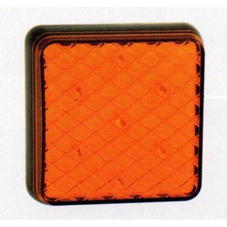 Feu arriére carré à LEDS clignotant 4918