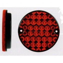 Feu arriére rond à LEDS antibrouillard 4917